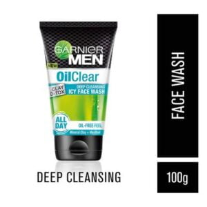 Garnier Men Oil Clear Clay D-Tox Face Wash