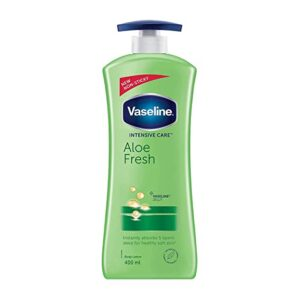 Buy Vaseline Intensive Care Aloe Fresh Body Lotion hand and body jhakaas man