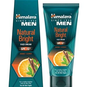 Buy Himalaya Men Natural Bright Face Cream for Men 25g