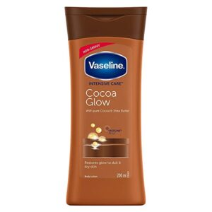 vaseline intensive care cocoa glow body lotion online jhakaas man