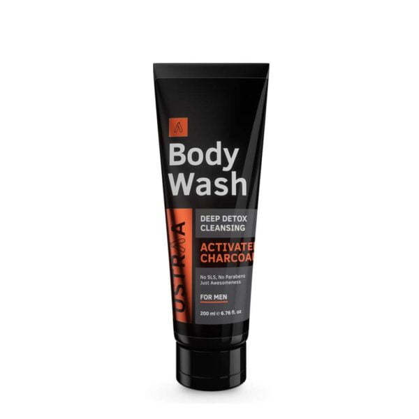 Buy ustraa Body Wash for Men Activated Charcoal | jhakaas man