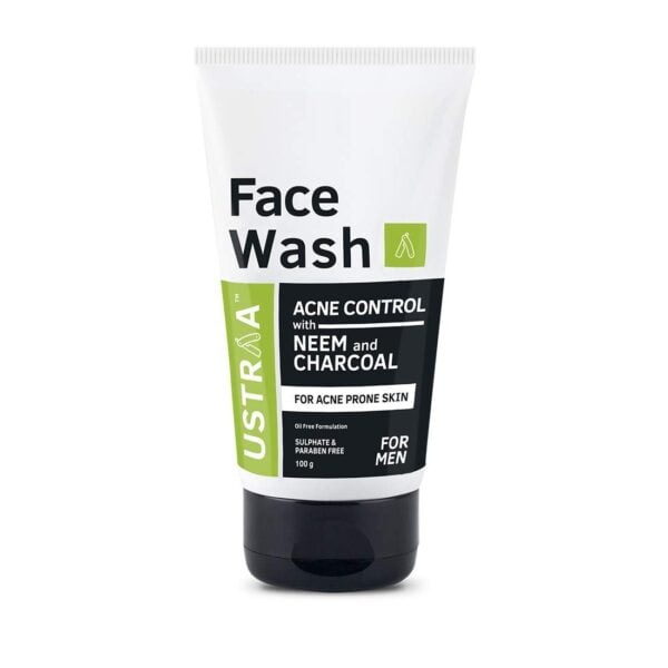 uy Ustraa Face Wash Acne Control With Neem & Charcoal